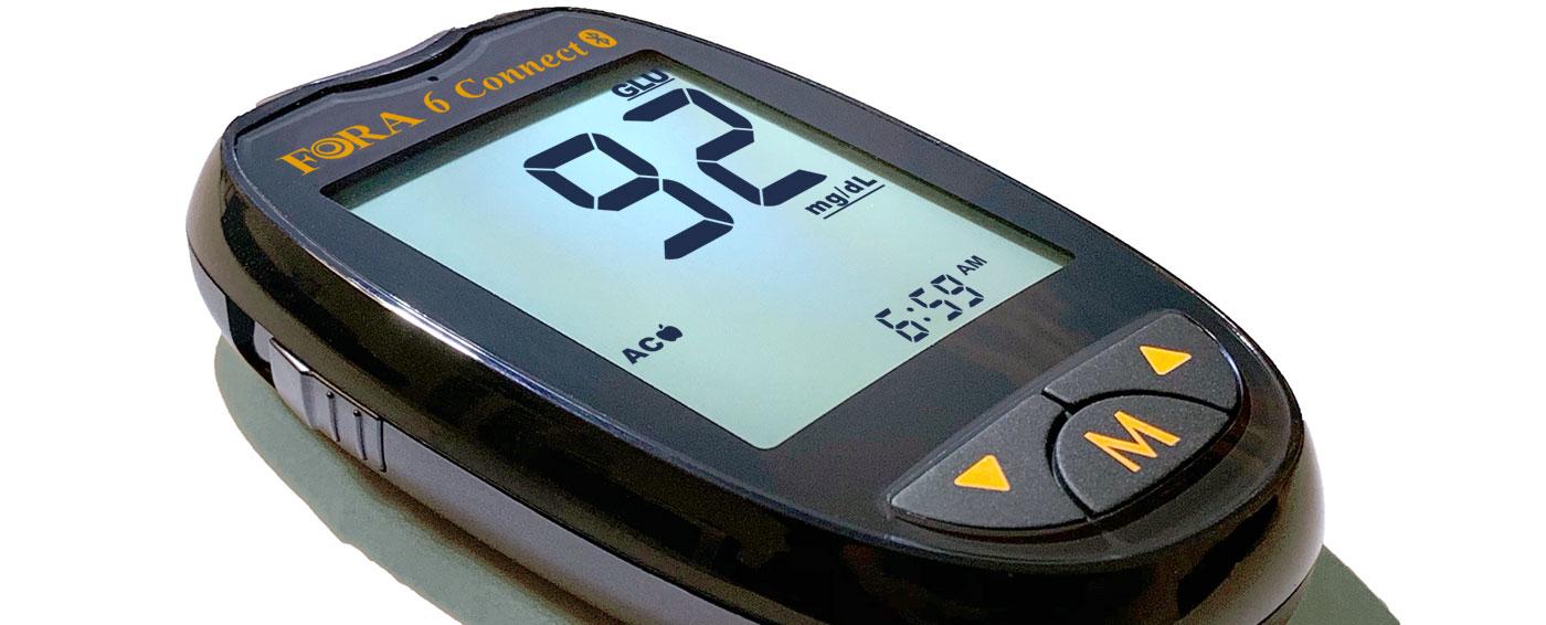 FORA 6 Connect Blutzuckermessgerät